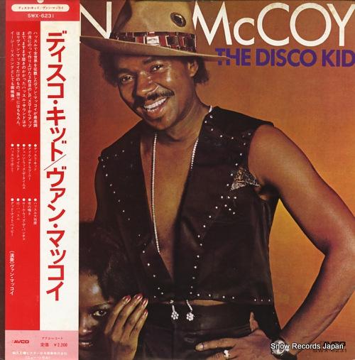 MCCOY, VAN the disco kid SWX-6231 - front cover