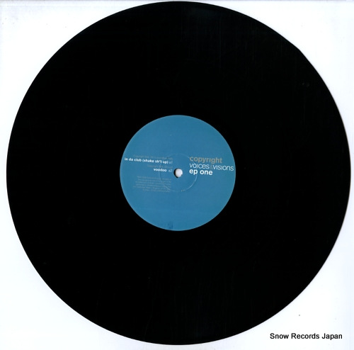 COPYRIGHT voices & visions ep one COPVVSAMP01 - disc