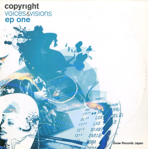 COPYRIGHT voices & visions ep one COPVVSAMP01 - front cover