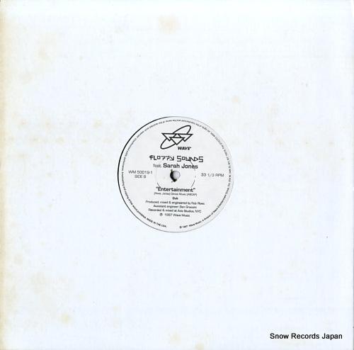 FLOPPY SOUNDS FEAT. SARAH JONES entertainment WM50019-1 - back cover