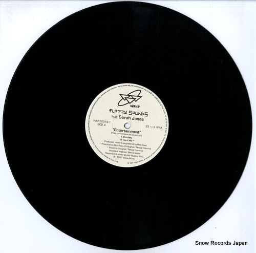 FLOPPY SOUNDS FEAT. SARAH JONES entertainment WM50019-1 - disc