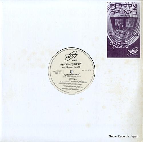 FLOPPY SOUNDS FEAT. SARAH JONES entertainment WM50019-1 - front cover