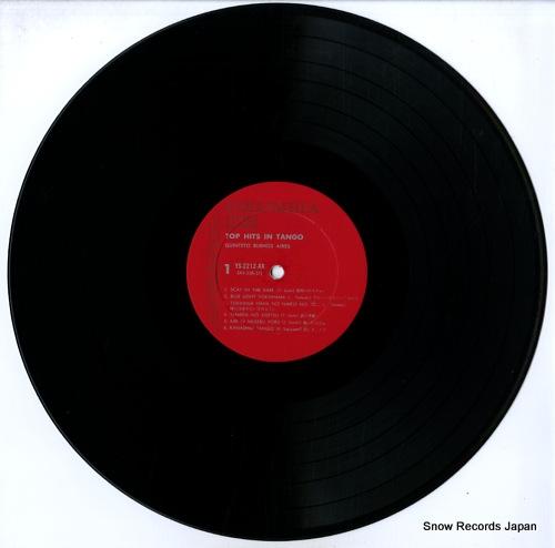 QUINTETO BUENOS AIRES top hits in tango YS-2212-AX - disc