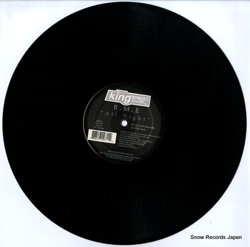 B.M.E all night KSS1071 - disc