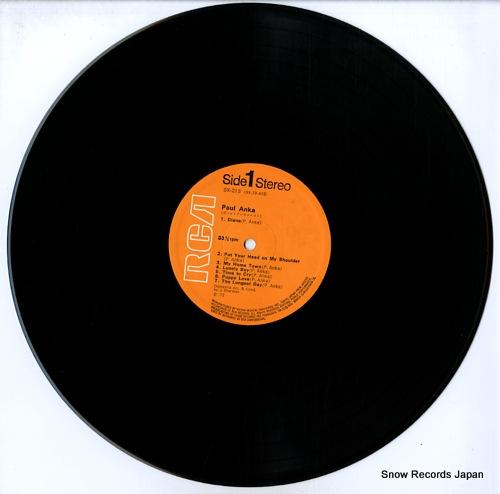 ANKA, PAUL paul anka SX-213 - disc