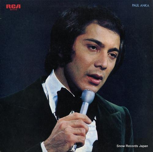 ANKA, PAUL paul anka SX-213 - front cover