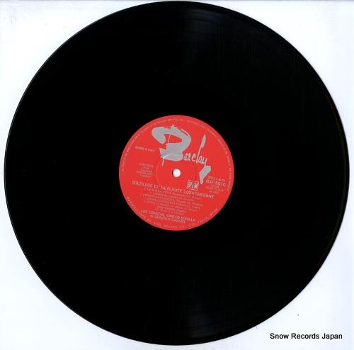 V/A soltilege de la flaute equatorienne GXF-5010 - disc