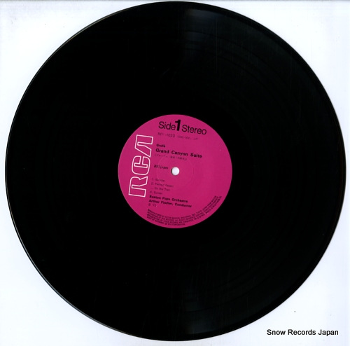 FIEDLER, ARTHUR grofe; grand canyon suite RGC-1023 - disc