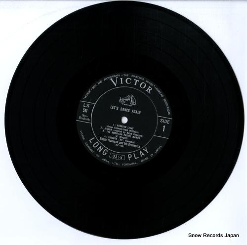 FLANAGAN, RALPH let's dance again LS-511 - disc