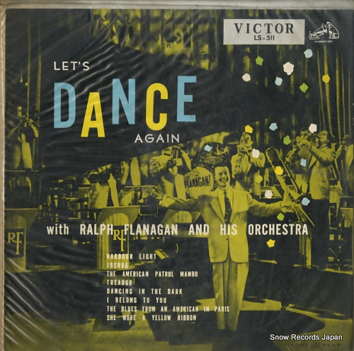 FLANAGAN, RALPH let's dance again LS-511 - front cover