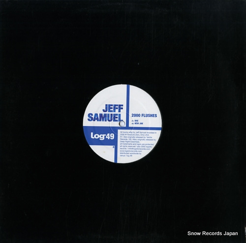 SAMUEL, JEFF 2000 flushes LOG49 - front cover