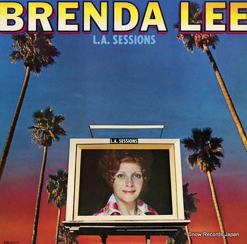 LEE, BRENDA l.a. sessions VIM-6117 - front cover