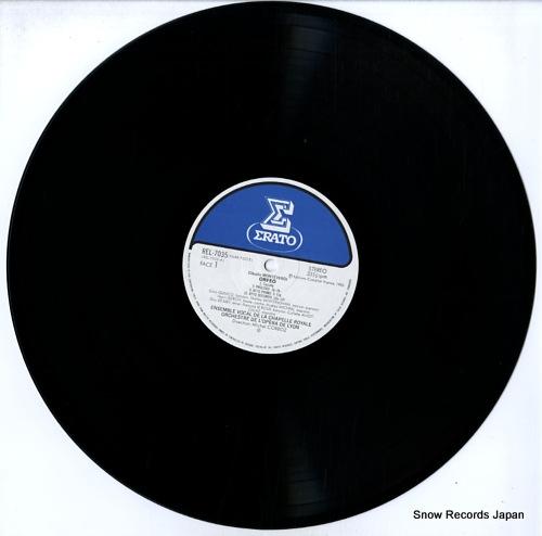 CORBOZ, MICHEL monteverdi; orfeo REL-7035-36 - disc