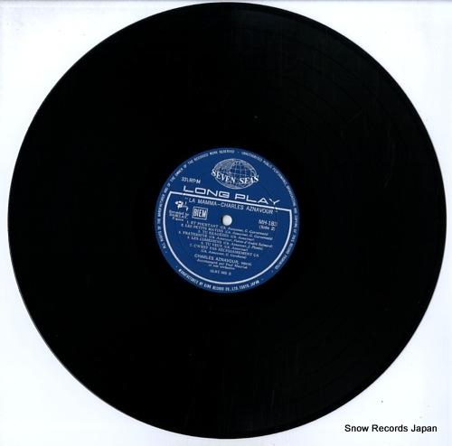 AZNAVOUR, CHARLES la mamma MH183 - disc