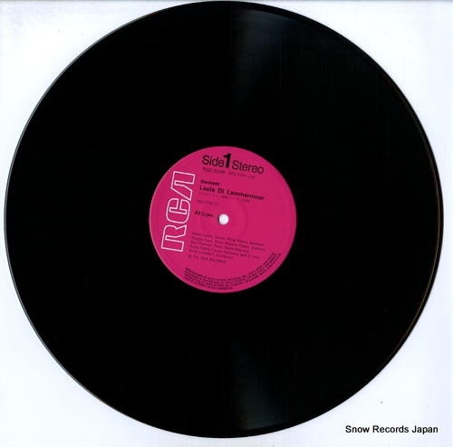 LEINSDORF, ERICH donizetti; lucia di lammermoor RGC-1099-100 - disc