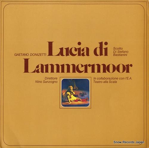 SANZOGNO, NINO donizetti; lucia di lammermoor OCL16021-16022 - front cover