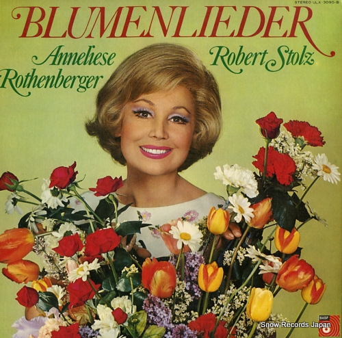 STOLZ, ROBERT blumenlieder ULX-3090-B - front cover