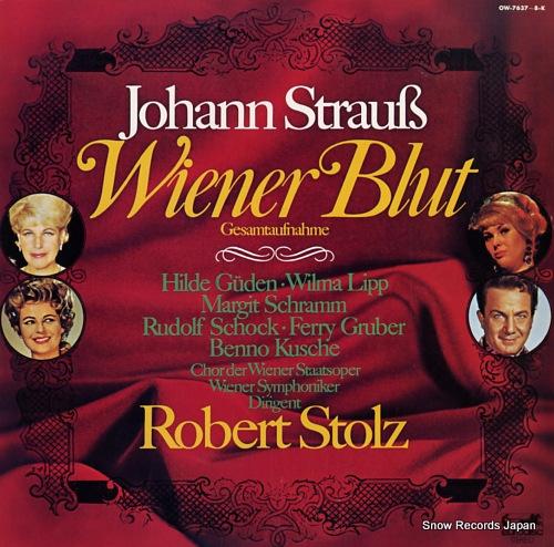 STOLZ, ROBERT strauss; wiener blut OW-7637-8-K - front cover