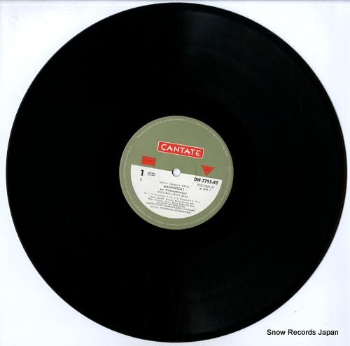 GONNENWEIN, WOLFGANG bach; magnificat OW-7795-KT - disc