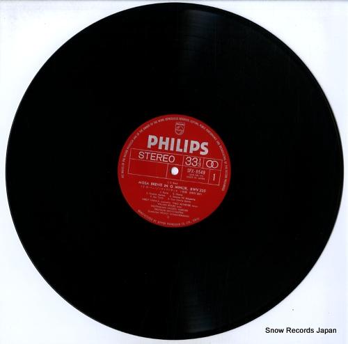 WINSCHERMANN, HELMUT bach; missa brevis in g minor & in g major SFX-8549 - disc