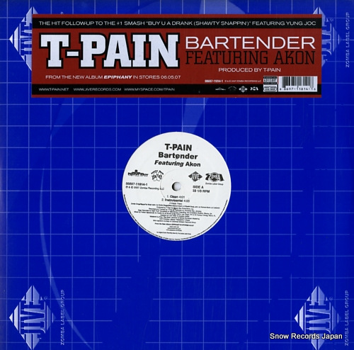 T-PAIN - bartender - LP
