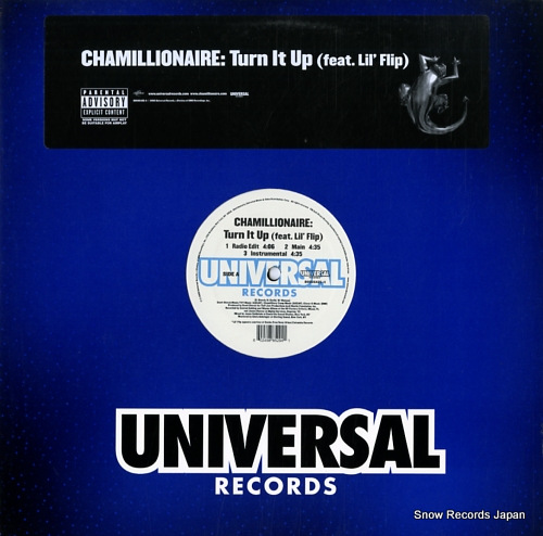 CHAMILLIONAIRE - turn it up - LP