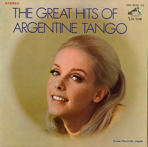 V/A - the great hits of argentine tango - 33T