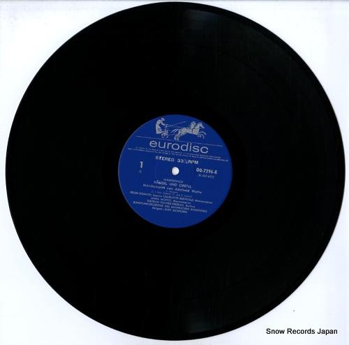EICHHORN, KURT humperdinck; hansel und gretel OQ-7296-7-K - disc