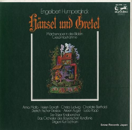 EICHHORN, KURT humperdinck; hansel und gretel OQ-7296-7-K - front cover