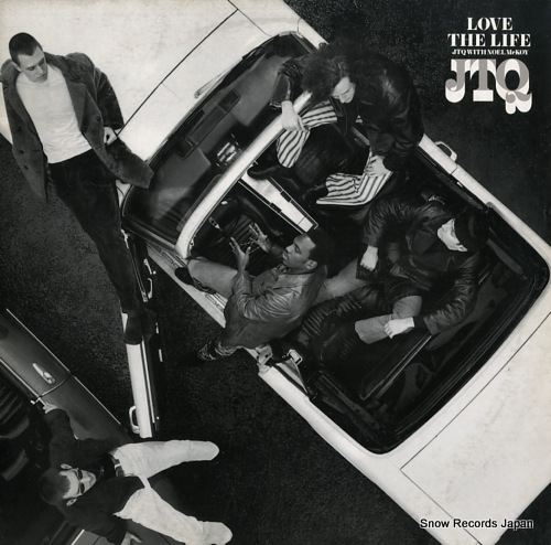 JTQ WITH NOEL MCKOY love the life BLRT93 - front cover