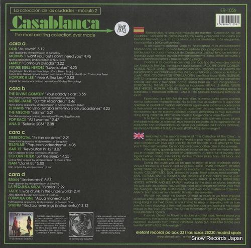 V/A casablanca ER-1056 - back cover