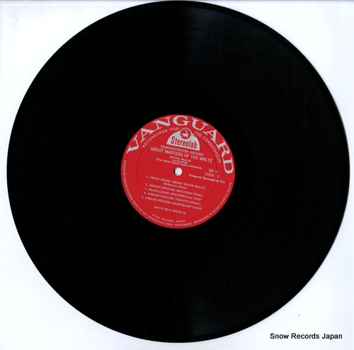 PAULIK, ANTON great masters of the waltz SV4 - disc