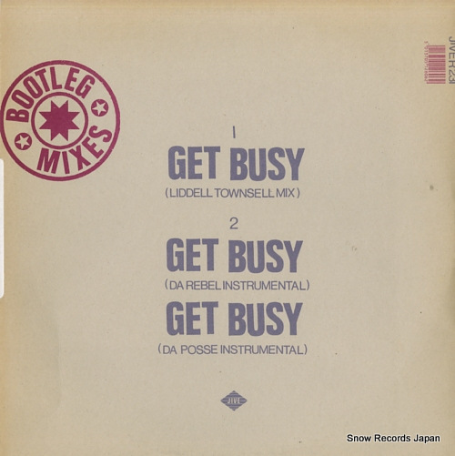 MR.LEE get busy JIVER231 - back cover