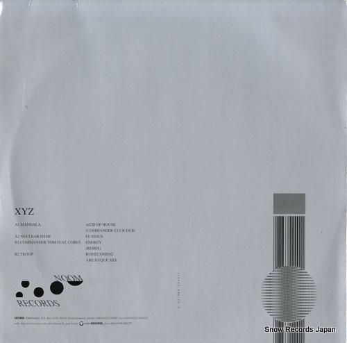 V/A xyz NOOMXYZ-6 - back cover