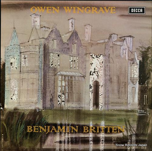 BRITTEN, BENJAMIN britten; owen wingrave SET501-2 - front cover