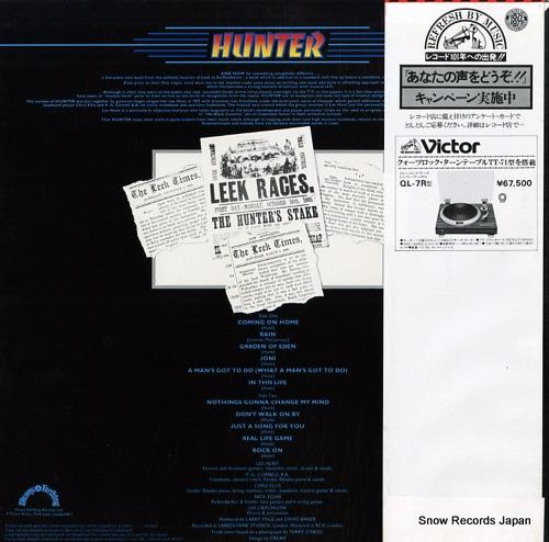 HUNTER hunter VIP-6428 - back cover