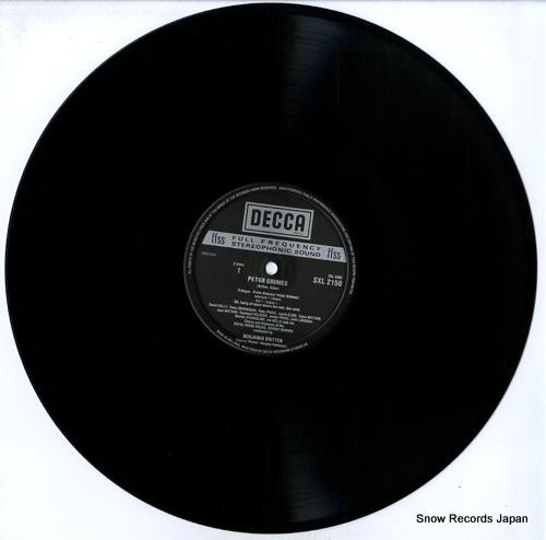 BRITTEN, BENJAMIN britten; peter grimes SXL2150-2 - disc