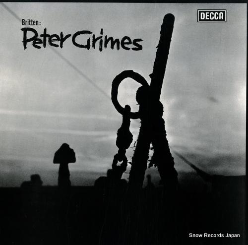 BRITTEN, BENJAMIN britten; peter grimes SXL2150-2 - front cover