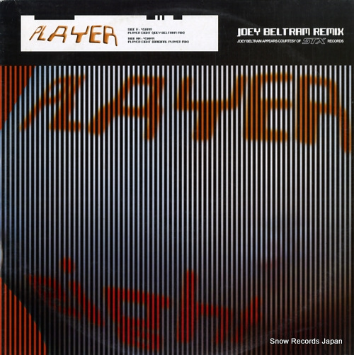 PLAYER player eight PREMIX003 - front cover