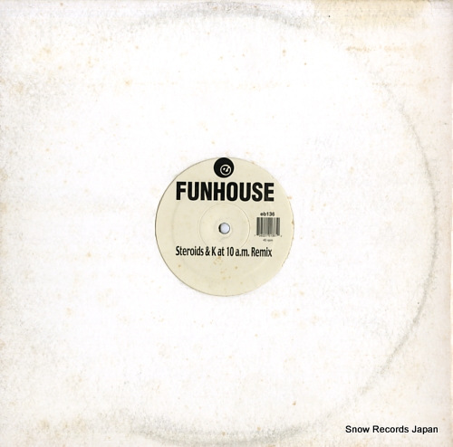 LACONIC funhouse / takin' off EB136 - front cover