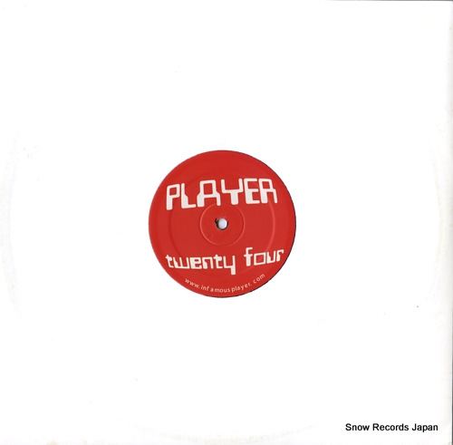 PLAYER player twenty four PLAY024 - front cover