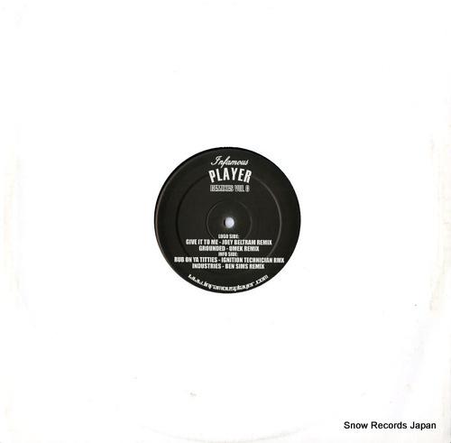 PLAYER infamous player remixes vol.8 PREMIX008 - back cover