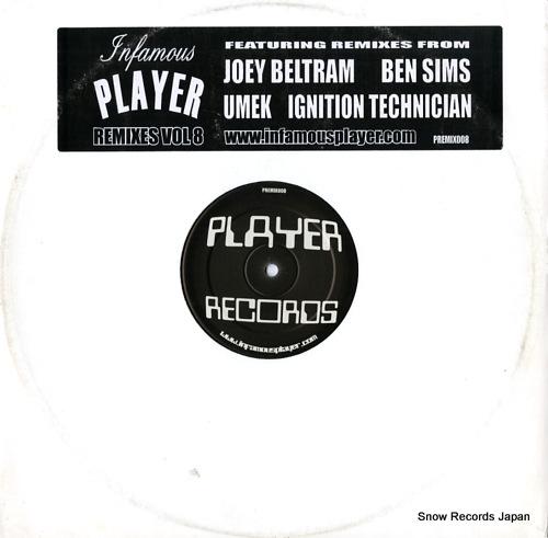 プレイヤー infamous player remixes vol.8 PREMIX008