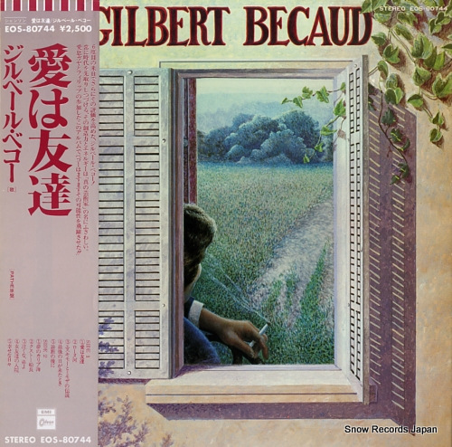 BECAUD, GILBERT gilbert becaud EOS-80744 - front cover