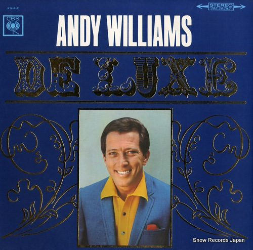 WILLIAMS, ANDY andy williams deluxe XS-4-C - front cover