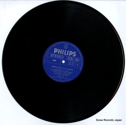 DARC, MIREILLE chante l'amour FDX-324 - disc