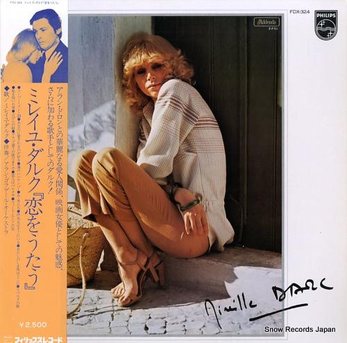 DARC, MIREILLE chante l'amour FDX-324 - front cover