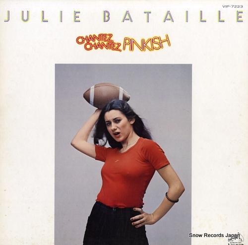 BATAILLE, JULIE chantez, chantez, pinkish VIP-7223 - front cover