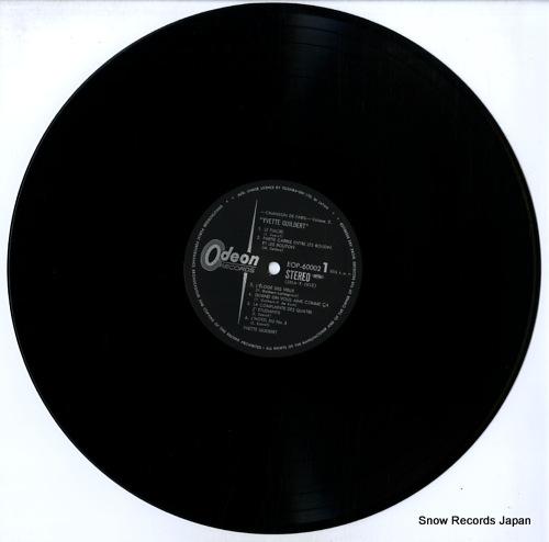 GUILBERT, YVETTE chanson de paris vol.2 / yvette guilbert EOP-60002 - disc