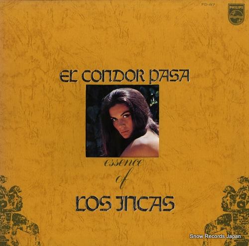 INCAS, LOS el condor pasa / essence of los incas FD-87 - front cover